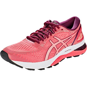 asics Gel-Nimbus 21 Shoes Women pink cameo/bakedpink